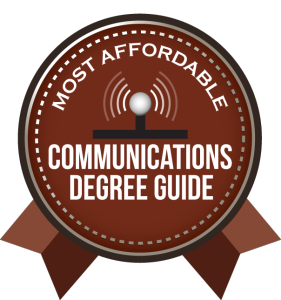 Badge - Communications Degree Guide